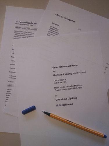 Businessplan erstellen Bild1